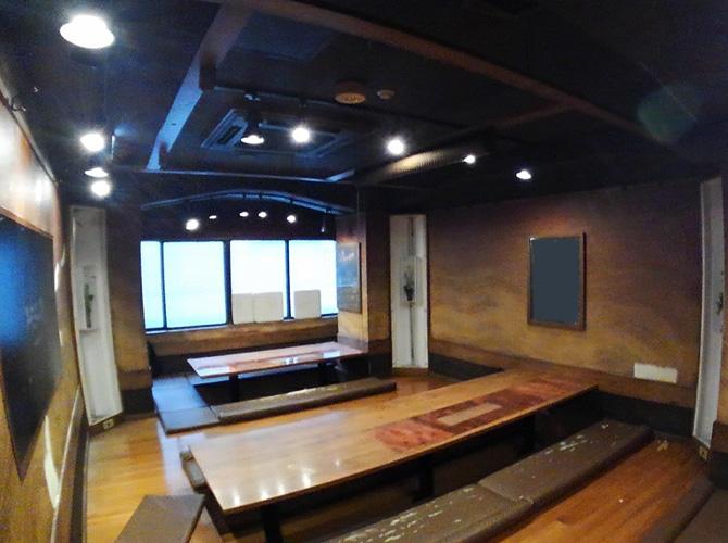 東京都千代田区飲食店の内部塗装工事の施工前