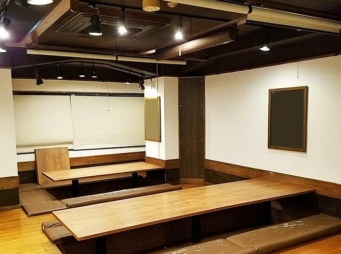 東京都千代田区飲食店の内部塗装工事の施工後