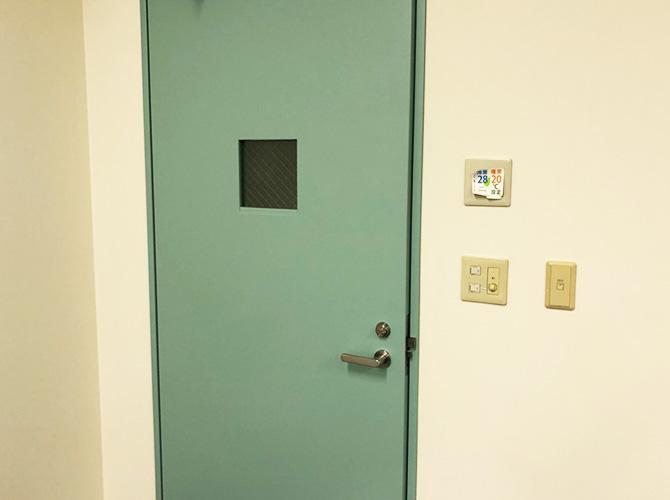 ドア塗装の完了後