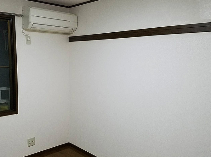 東京都世田谷区マンションの内部塗装工事の施工後