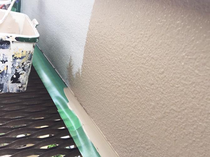 東京都杉並区戸建住宅の外壁・屋根塗装工事の施工前