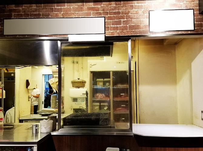 厨房塗装の施工前