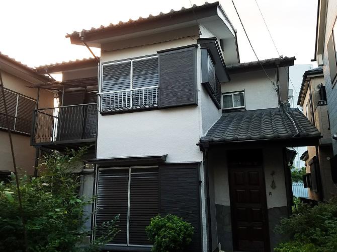 埼玉県春日部市戸建住宅の外壁塗装工事の施工後