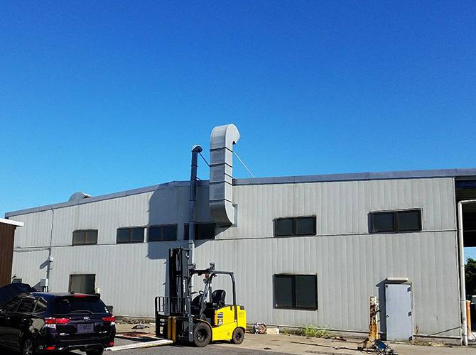 千葉県印西市工場の外壁塗装・屋根塗装工事の施工前