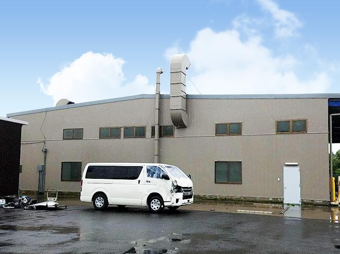 千葉県印西市工場の外壁塗装・屋根塗装工事の施工後