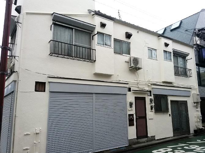 東京都豊島区戸建住宅の外壁塗装工事の施工後