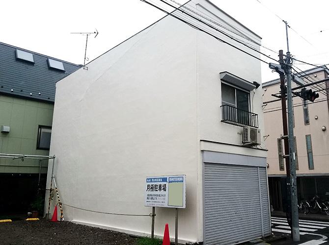外壁塗装工事の完了後