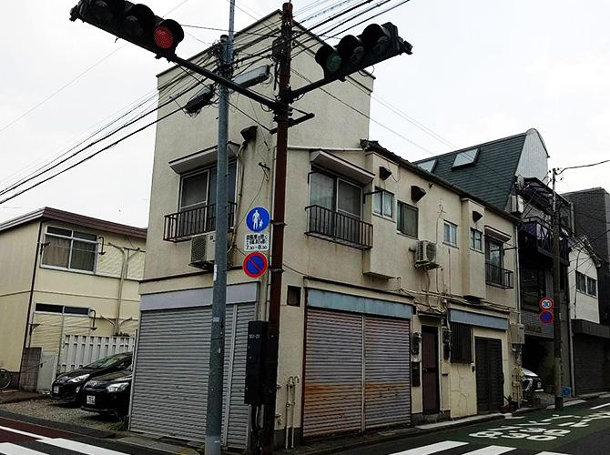 東京都豊島区戸建住宅の外壁塗装工事の施工前