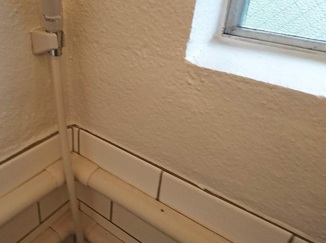 バスルーム塗装完了
