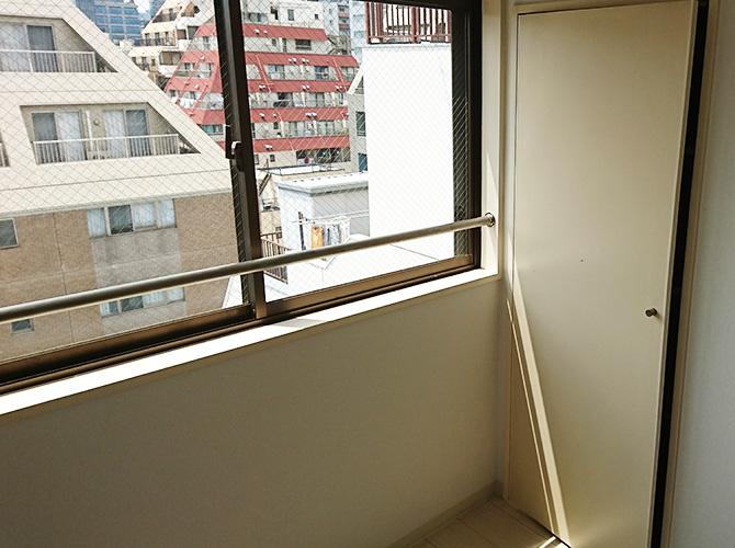 窓まわりの塗装完了後