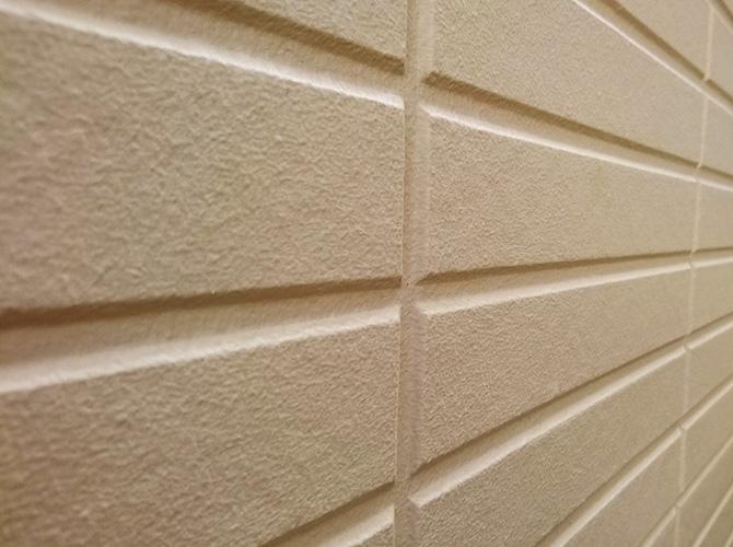 外壁サイディング塗装の施工完了