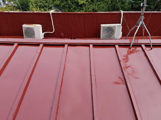 トタン屋根塗装完了後