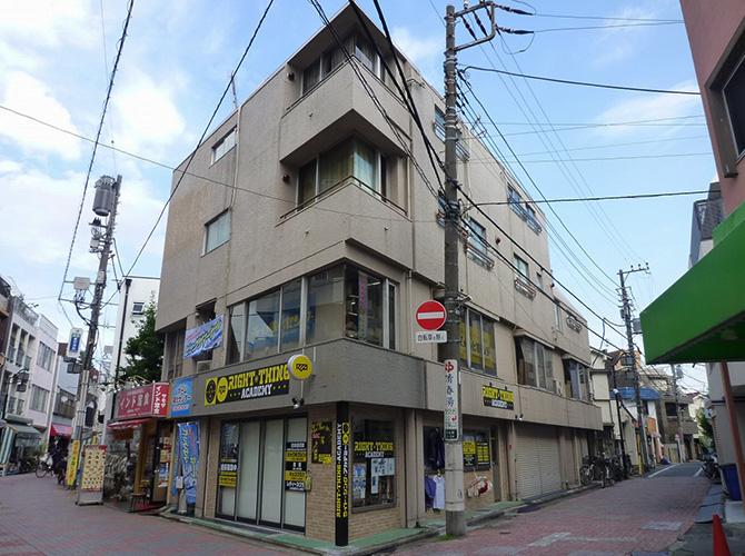 東京都中野区マンションの外壁塗装・屋上防水工事の施工前