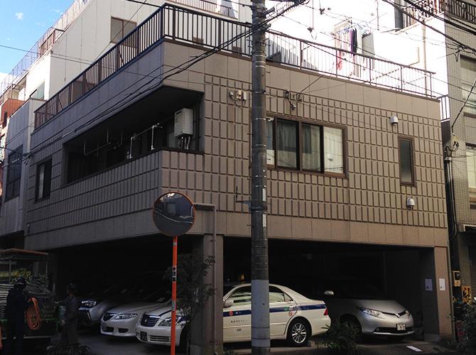 東京都台東区戸建住宅の外壁塗装・シール工事の施工前