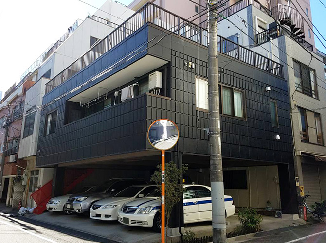 東京都台東区戸建住宅の外壁塗装・シール工事の施工後