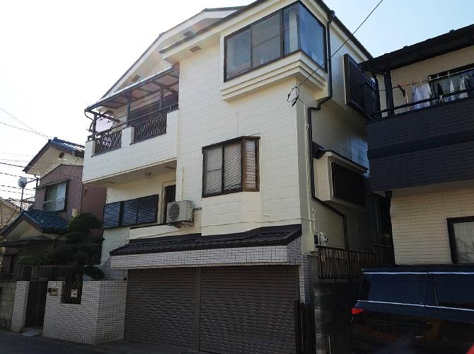 埼玉県坂戸市2階建住宅の外壁塗装・屋根塗装工事の施工後