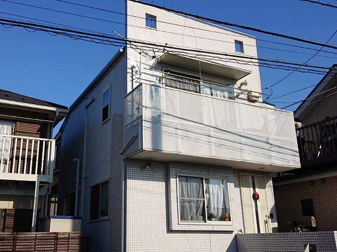 東京都世田谷区戸建住宅の外壁塗装・屋根塗装工事の施工後