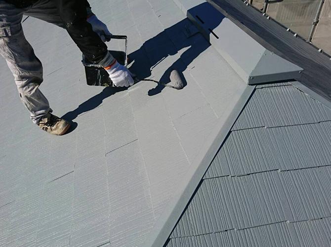 東京都足立区綾瀬住宅の外壁塗装・屋根塗装工事の施工後