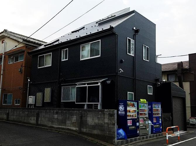 東京都足立区3階建住宅の外壁塗装・屋根塗装工事の施工後