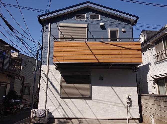 東京都渋谷区2階建住宅の外壁塗装・屋根塗装工事の施工後