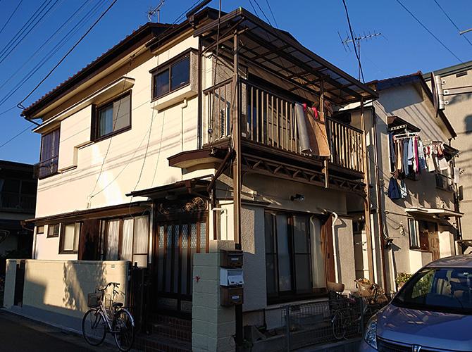 東京都北区2階建住宅の外壁塗装・屋根塗装工事の施工後