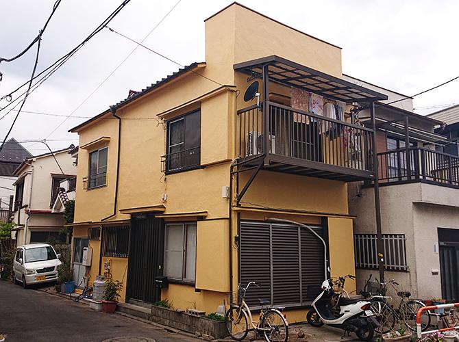 東京都足立区扇2階建住宅の外壁塗装・屋根塗装工事の施工後