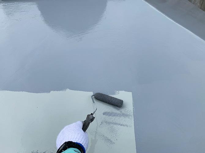 トップコートの塗布