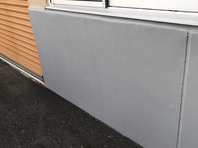 基礎塗装の完了後