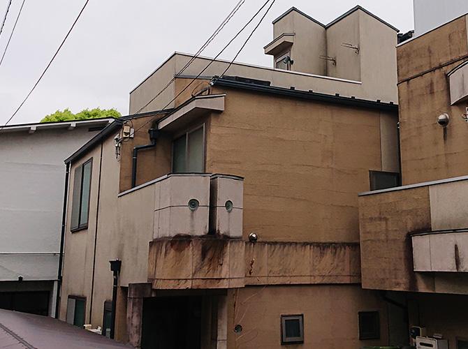 東京都大田区2階建住宅の外壁塗装・屋根塗装工事の施工前
