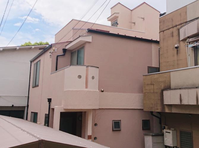 東京都大田区2階建住宅の外壁塗装・屋根塗装工事の施工後