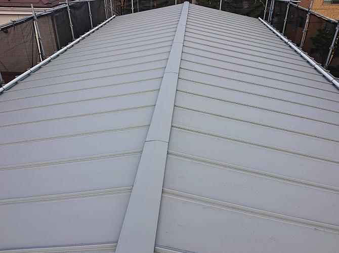 東京都江戸川区3階建工場の屋根塗装工事の施工前