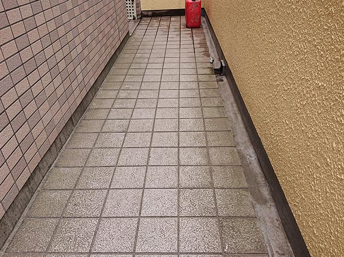 廊下の施工前
