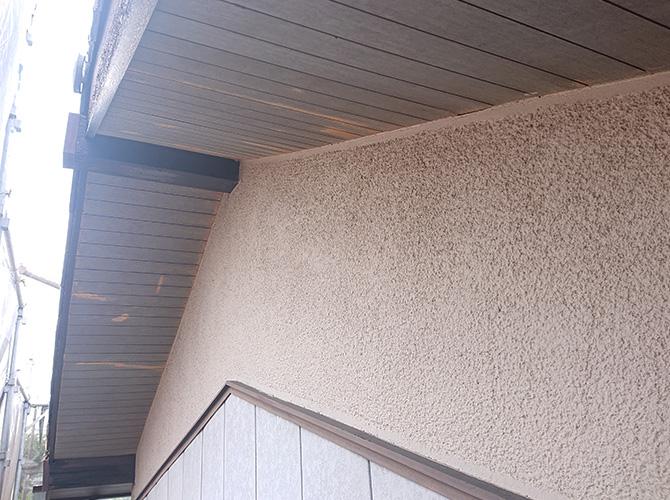 小壁の塗装前