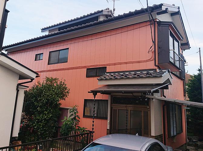 埼玉県八潮市2階建住宅の外壁塗装・木部塗装工事の施工後