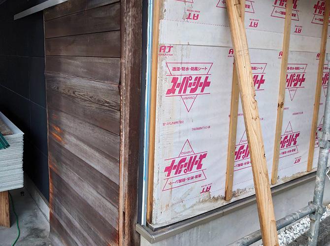 外壁サイディングの張替