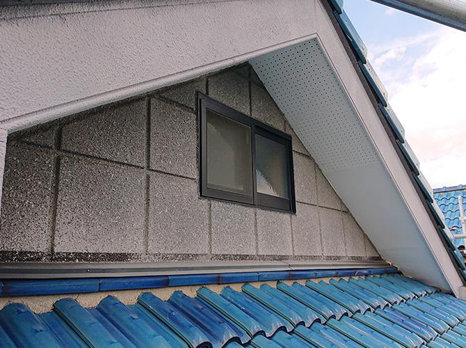 屋根まわりの施工前