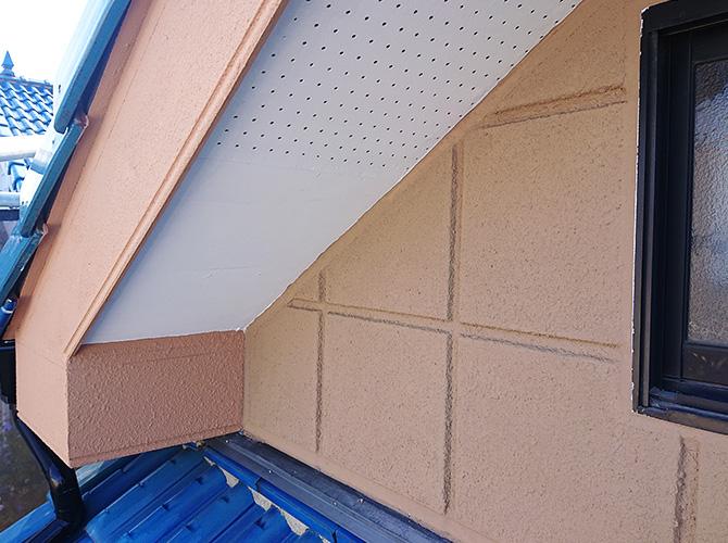 屋根まわりの施工後
