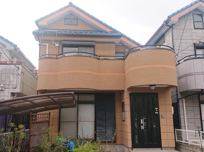 東京都足立区伊興2階建住宅の外壁塗装工事の施工後