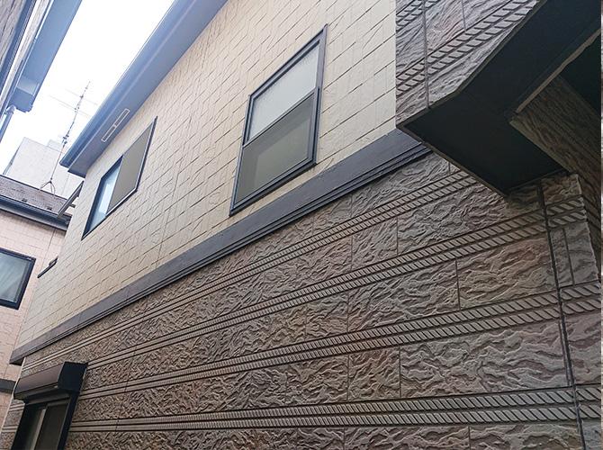 神奈川県川崎市2階建住宅の外壁塗装・屋根葺き替え工事の施工前