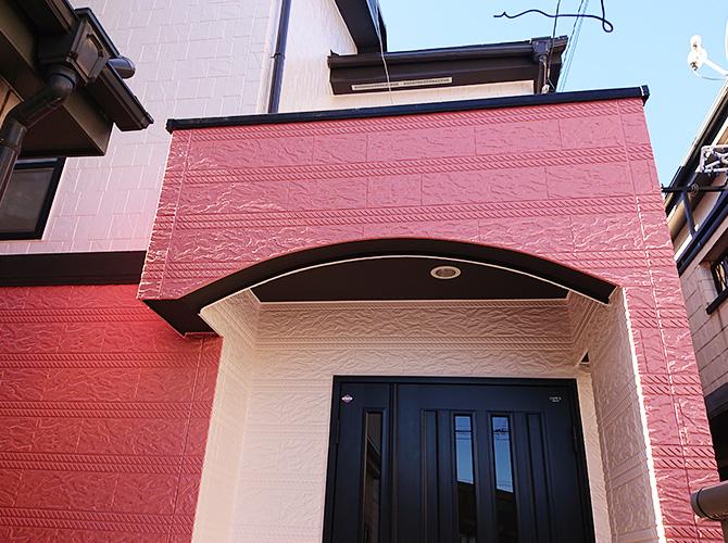 神奈川県川崎市2階建住宅の外壁塗装・屋根葺き替え工事の施工後