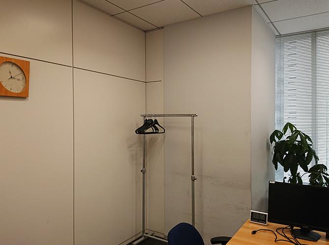 東京都新宿区オフィスの内部塗装工事の施工前