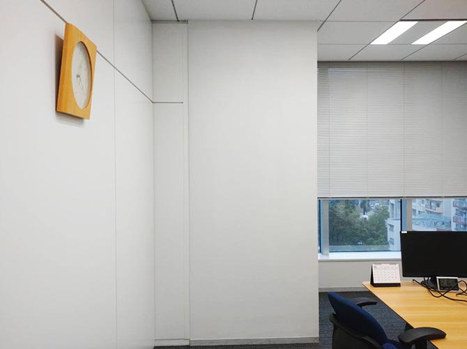 東京都新宿区オフィスの内部塗装工事の施工後