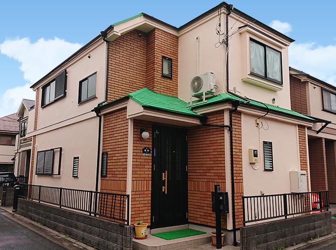 東京都足立区伊興2階建住宅の外壁塗装・屋根塗装工事の施工後