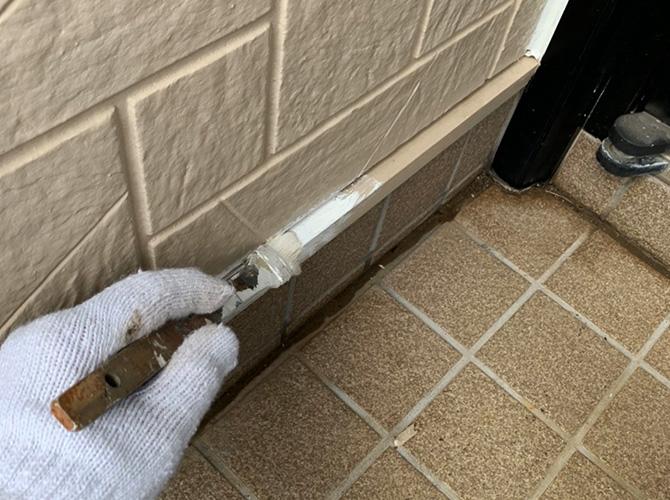 水切り塗装のサビ止め