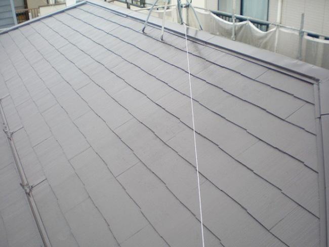 東京都豊島区のサーモアイ・パラサーモの屋根塗装施工事例
