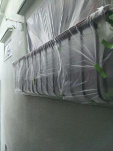 外壁塗装と屋根塗装を東京都大田区にて05【施工前】