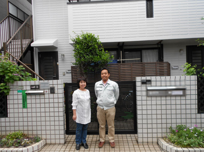 外壁塗装と屋根塗装を東京都大田区にて06【施工後】