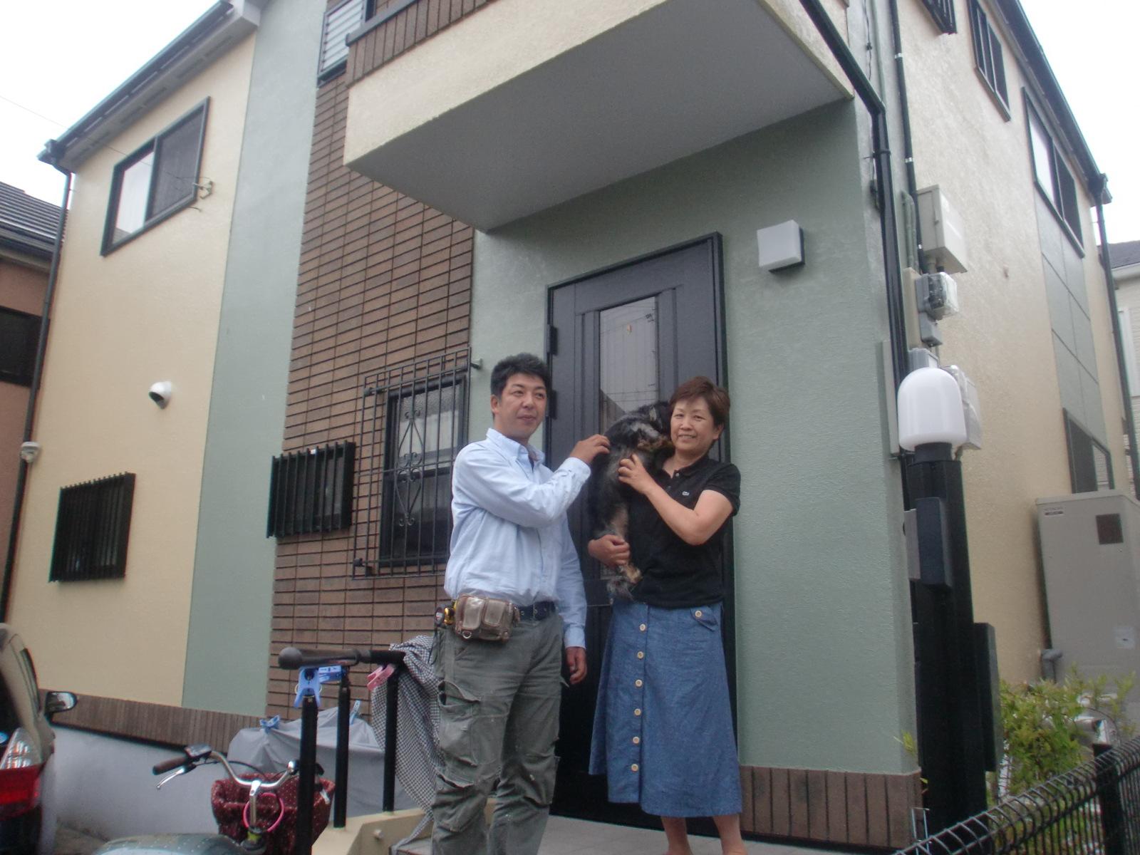 外壁塗装と屋根塗装を東京都大田区にて5【施工後】