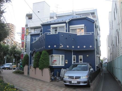 神奈川県川崎市のセラミシリコン塗料の外壁塗装施工事例