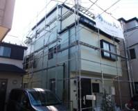 外壁塗装と屋根塗装を東京都足立区興野にて10【施工後】